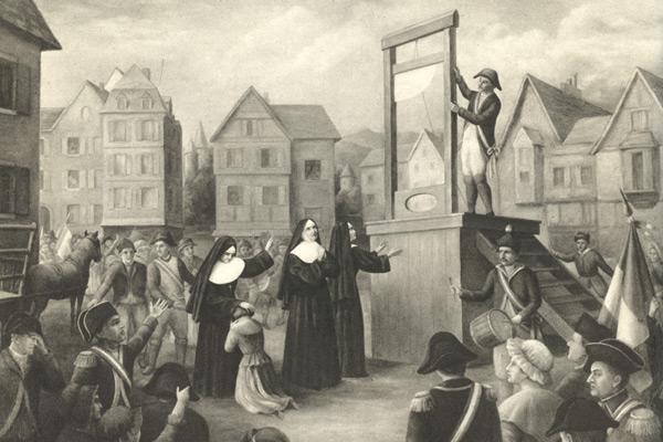 Resultado de imagem para Martyrs of Compiègne