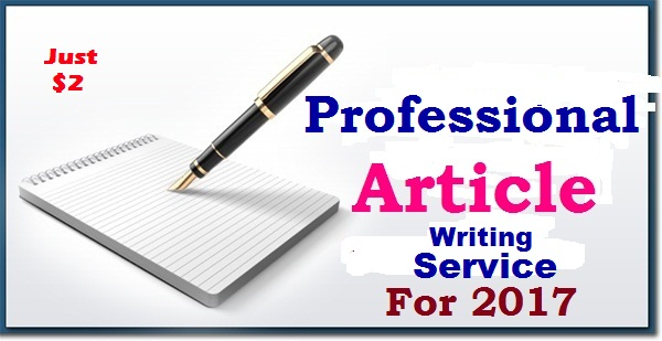 Article writing services email