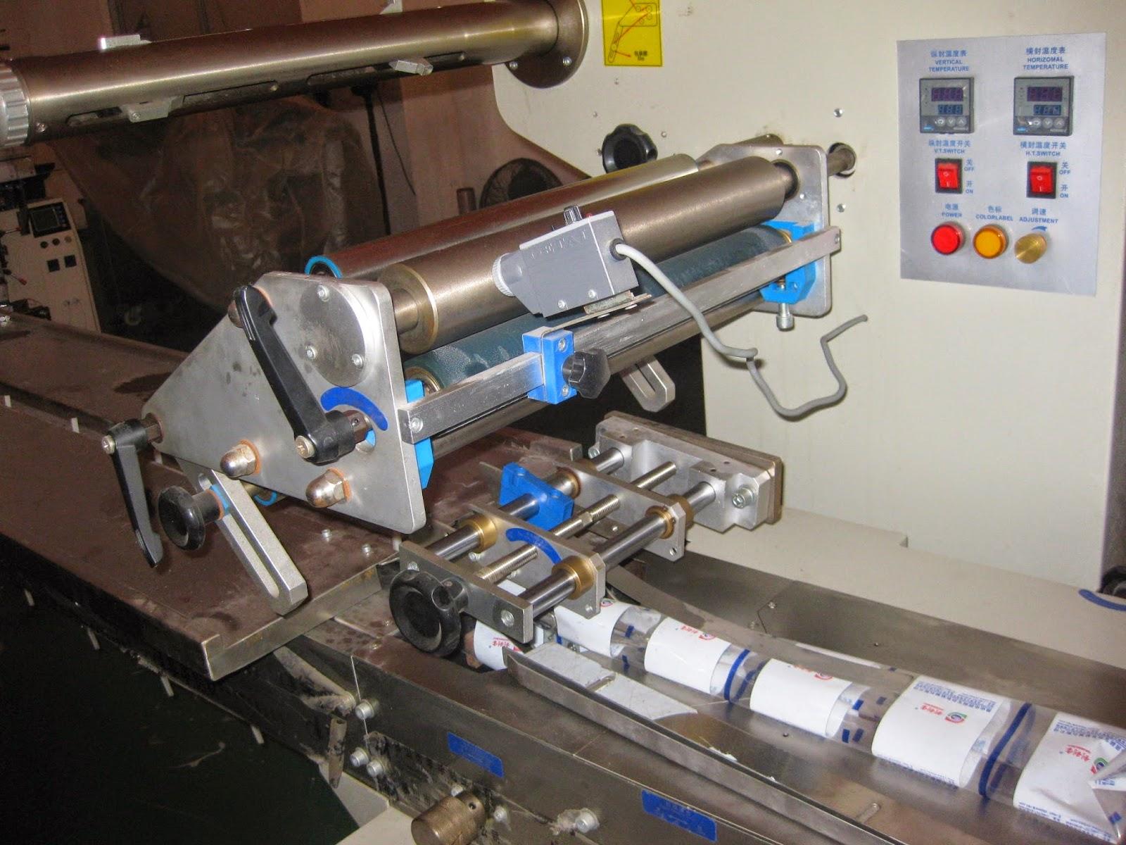 automatic horizontal packaging machine Verpackungsmaschine fuer Lebensmitteln máquina de embalaje