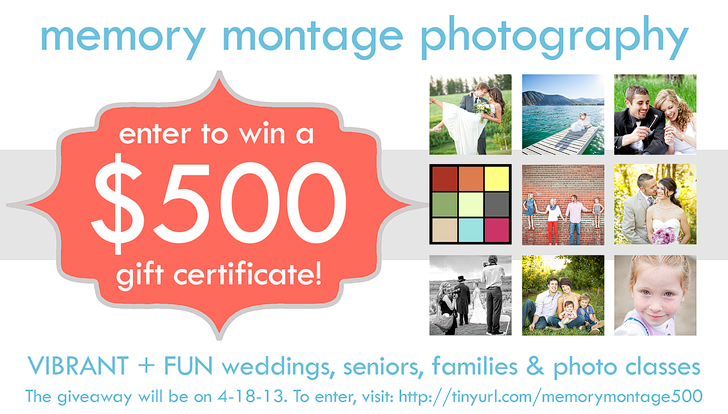photography giveaway Yakima wa