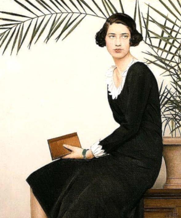 Bernard Boutet de Monvel. Portrait of Virginia Shaw, 1930