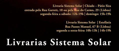LIVRARIAS SISTEMA SOLAR