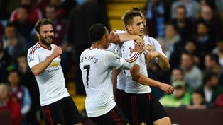 Aston Villa 0-1 Manchester United All Goals & Highlights Video