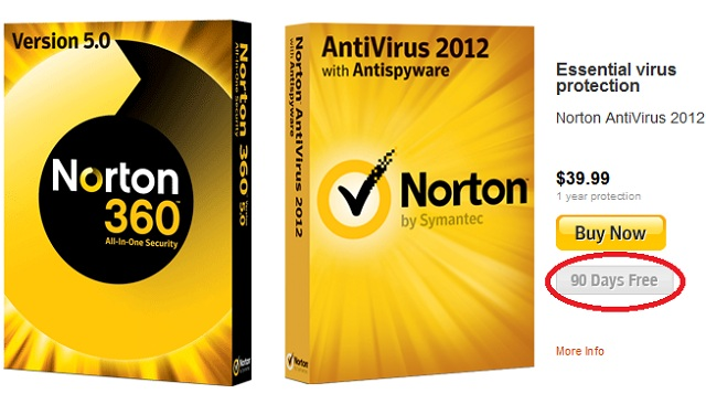 download norton internet security trial 90 days