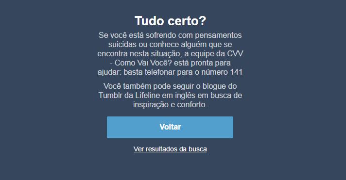Suiucídio Tumblr