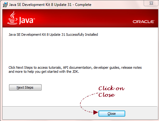 install jdk on windows