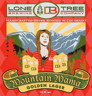 Lone Tree Brewing Mountain Mama can design