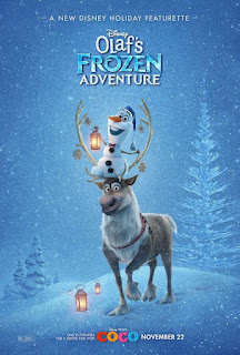 Olaf's Frozen Adventure (2017) Dual Audio Hindi WebDL 71Mb hevc