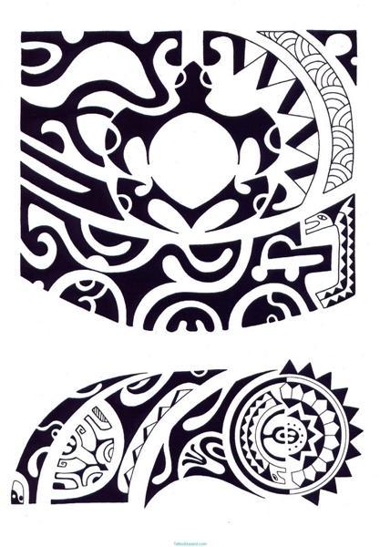 fotos de tatuajes: diseños de tribales maories tatuajes