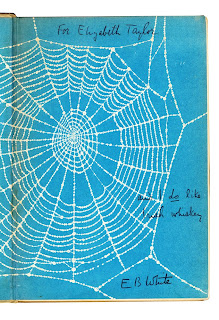 An inscription from E.B. White in the children's story, Charlotte's Web
