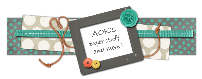 aok's paper stuff and more