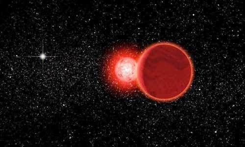 Una estrella binaria pasó por el Sistema Solar hace 70.000 años