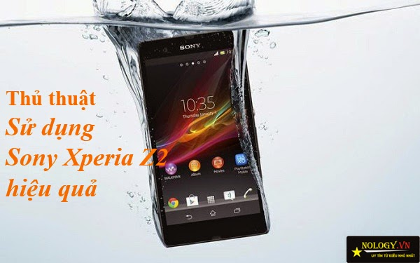 các tính năng trên Sony Xperia Z2 Nhật Bản
