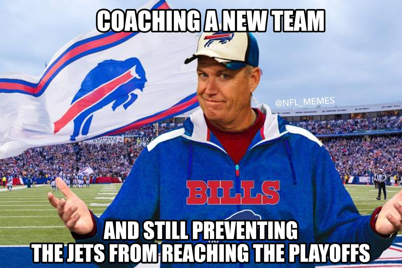 Rex%2BRyan%2BMeme the grandstander it's playoff time and other football thoughts