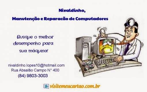 NIVALDO FILHO - REPARAÇÃO E MANUTENÇÃO DE COMPUTADORES