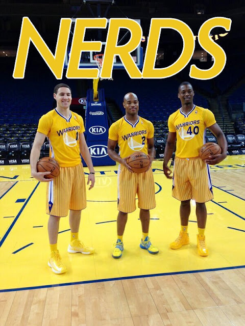 Warriors new yellow jerseys