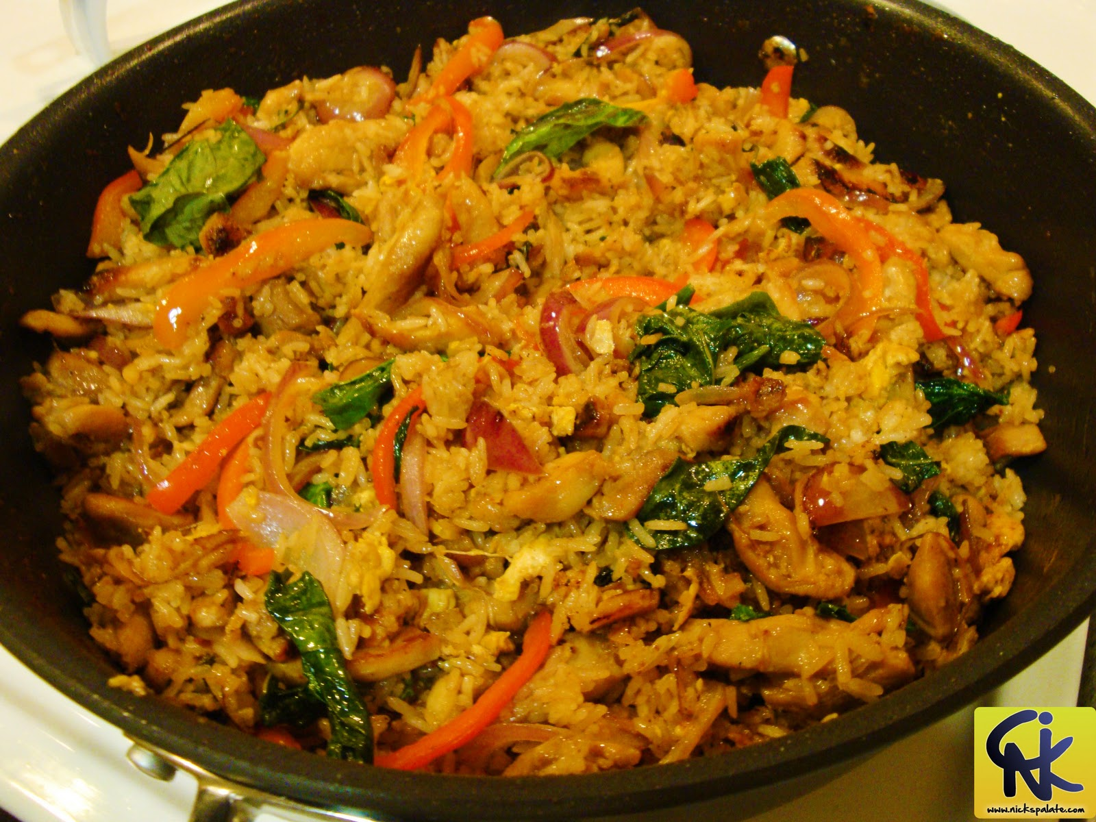 Nick's Palate - Cooking Made Simple : Thai Fried Rice