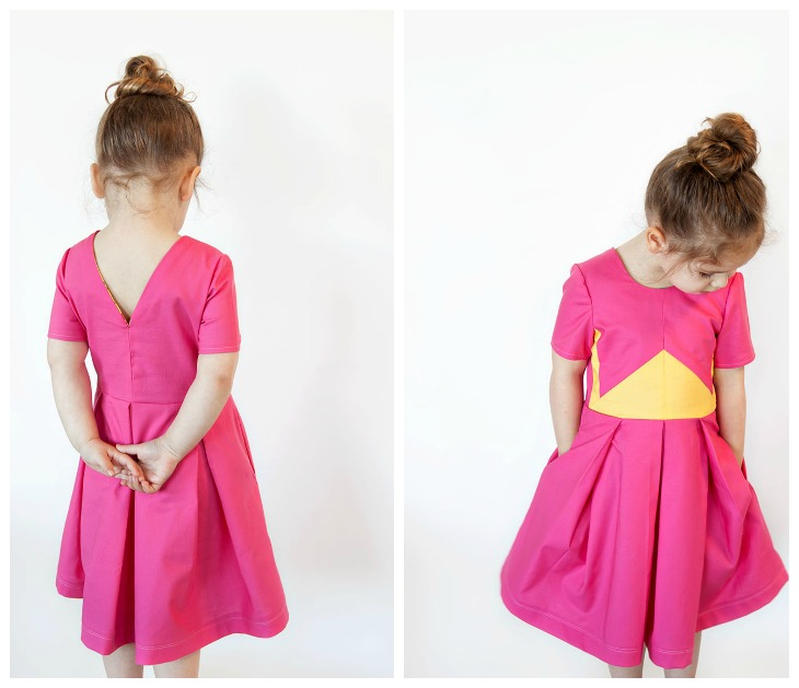 THE FRANKIE DRESS Sewing Pattern by VeryShannon.com - Coming Soon!