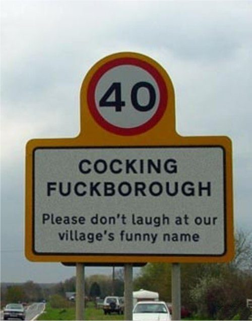 signboard kelakar