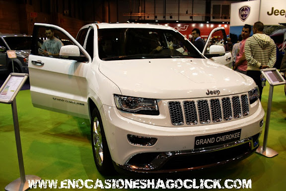 jeep grand cherokee salon del automovil de madrid 2014