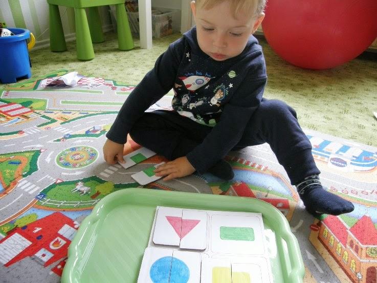 montessori aktivity, hand made pomůcka