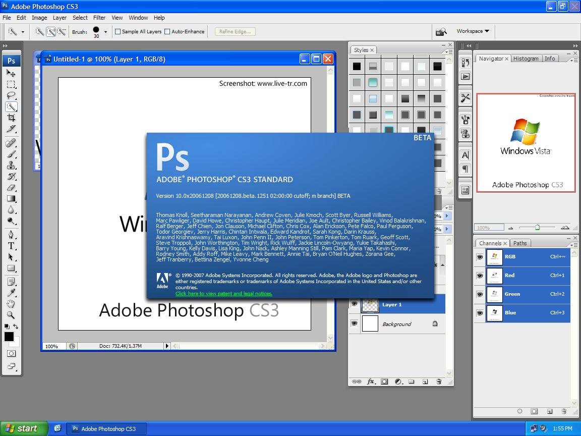 Скачать бесплатно photoshop cs3 portable rus скачать