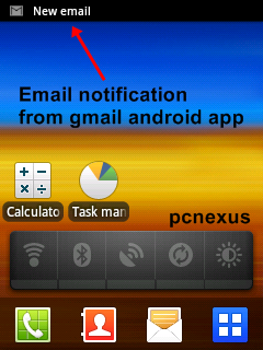 gmail android automatic email notifications