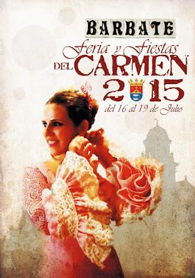 FERIA Y FIESTAS DEL CARMEN - BARBATE 2015 - Flamenca en Rosa - Juan Francisco Castro Fernández