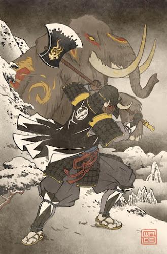 Galeria- E se os Power Rangers fossem samurais antigos