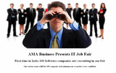IT job fair, IT job opportunity, job information, work overseas