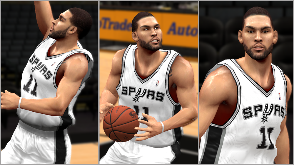 NBA 2K14 Jeff Ayres Face Mod