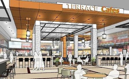 Above And Below Are Renderings Showing The New Look Given To Tulsas Top Shopping Mall As Part Of A 2012 2013 Renovation Drawing From Simon