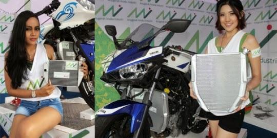 Radiator racing Untuk Yamaha R15 dan R25