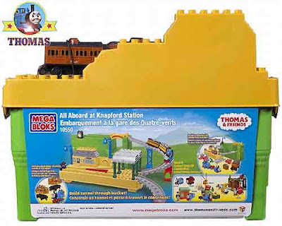 Creative Thomas and friends toy railway layout All Aboard at Knapford Station playset track design
