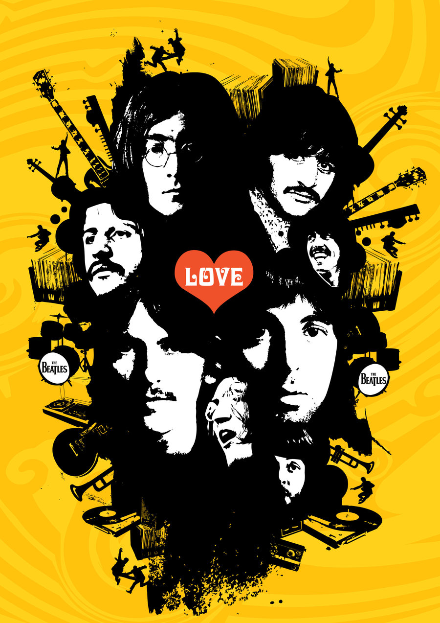 La guitarra mecanica the beatles yesterday for Love the design