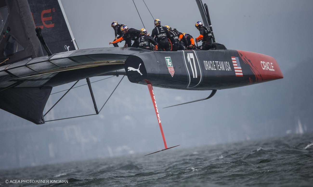 """Catamaran Racing Ac34: """"this is not sailing"""" we finally agree.. this ..."""
