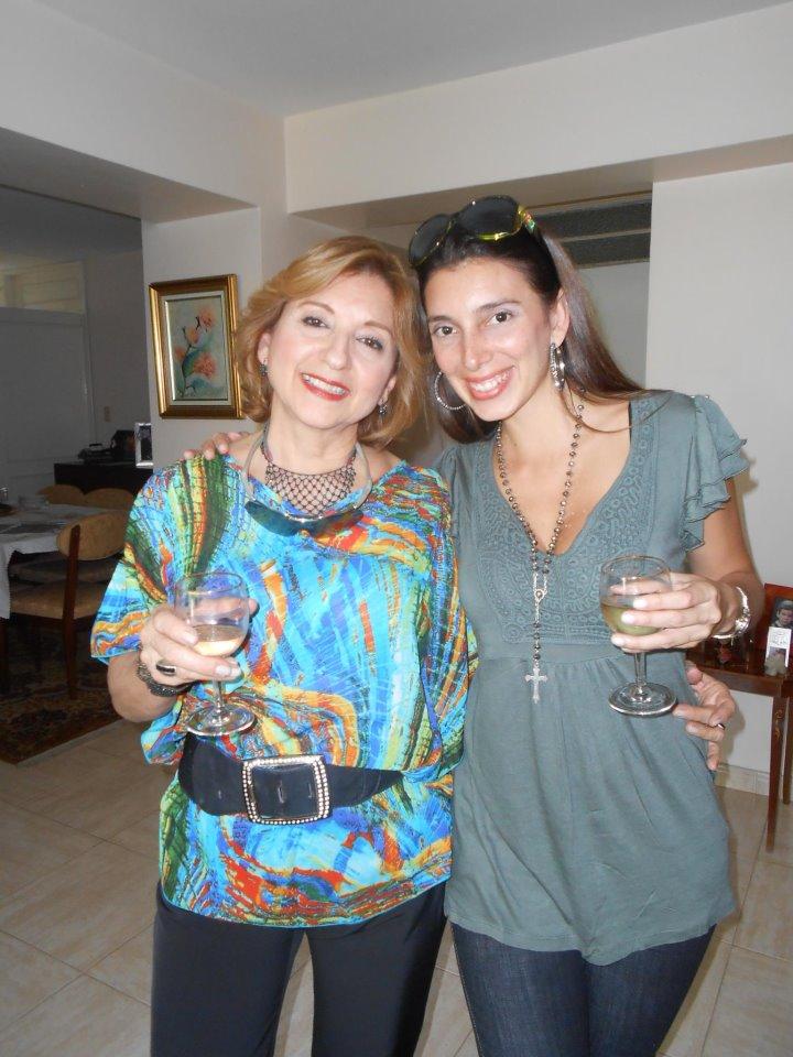 Norma Sanchez y Valentina su hija.