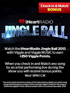 iHeartRadio Jingle Ball 2013, Viggle, Viggle Mom