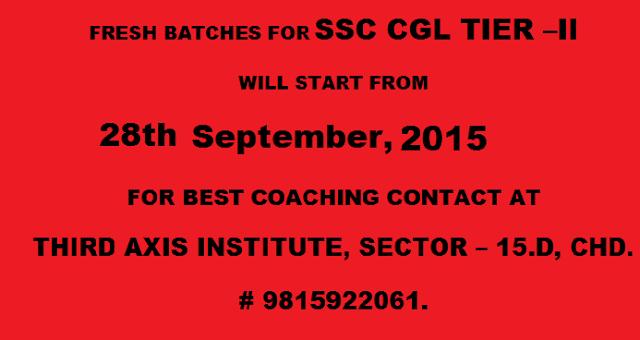 Best Coaching ssc cgl tier - ii