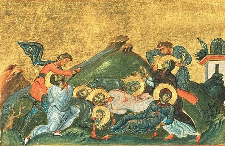 Rome Chrétienne et ses monuments - EUGENE DE LA GOURNERIE - 1867 0125sainte-felicite-de-rome-et-7fils-martyrs