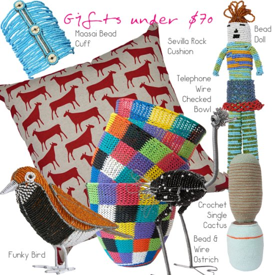 Safari Fusion blog | A Safari Fusion Christmas | Unique handcrafted African Gift ideas for under $70