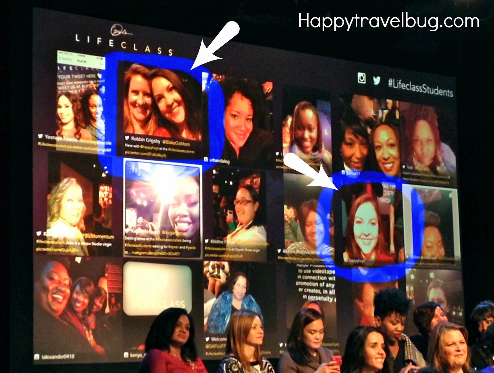 Me and my friend on the Lifeclass students board