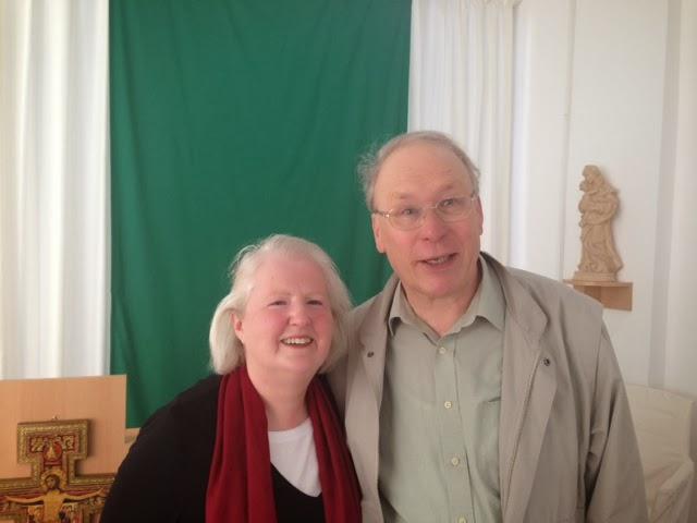 unser ehemaliger Pfarrer mit seiner Ehefrau