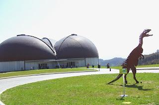 Colunga, Museo del Jurásico, vista exterior
