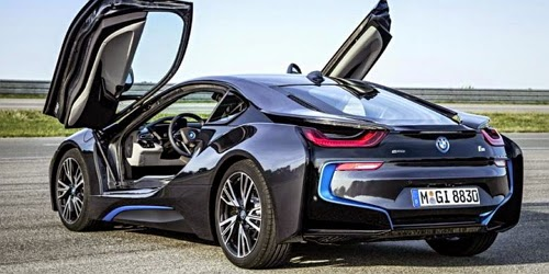 Kunci BMW i8 Paling Canggih