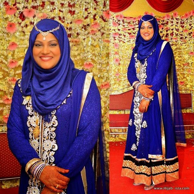Robe de soirée longue pour hijab