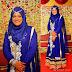 Hijab mode - Robe de soirée longue pour hijab
