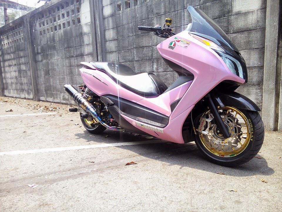 Modifikasi Scooter Honda Forza