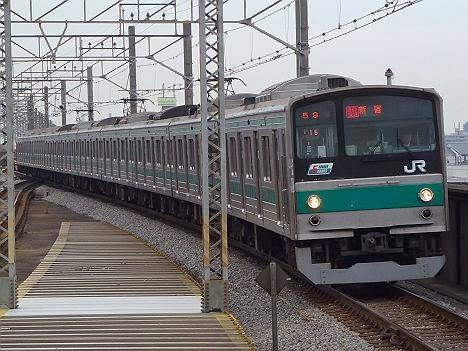 埼京線 通勤快速 新宿行き1 205系