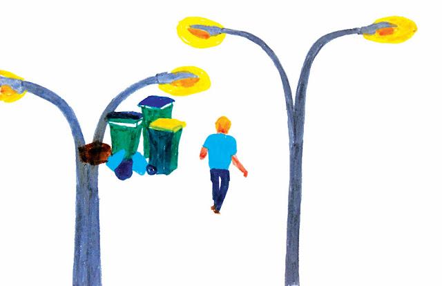 illustration jeunesse au feutre